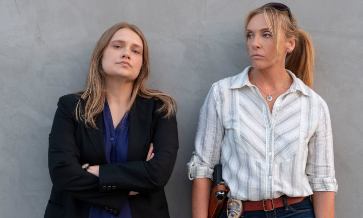Merritt Wever and Toni Collette Photograph Beth DubberNetflix